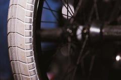 Колесо велосипеда Bmx Стоковые Фотографии RF