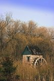 колесо воды парка Стоковое фото RF