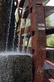 колесо воды стана Стоковая Фотография
