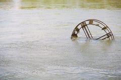 Колесо воды Стоковое Изображение