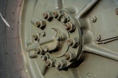 колесо военного транспортного средства Стоковое фото RF
