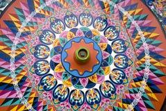 колесо вола тележки гигантское Стоковое Изображение