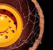 колесо грязи Стоковые Фото