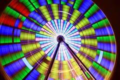 колесо движения ferris Стоковые Фото
