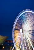 колесо движения liverpool ferris стоковая фотография