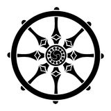 Колесо жизни иллюстрация вектора