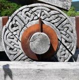 Колесо катапульты - замок Urquhart Стоковое фото RF