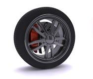 колесо крома славное Стоковые Фотографии RF