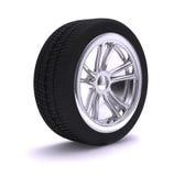 колесо крома славное Стоковая Фотография