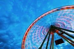 колесо ночи ferris Стоковое Изображение RF