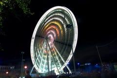 колесо ночи ferris Стоковое Изображение
