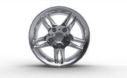 колесо оправы автомобиля сплава Стоковое Изображение