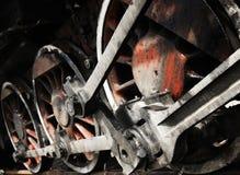 колесо поезда Стоковые Изображения