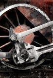 колесо поезда стоковое изображение