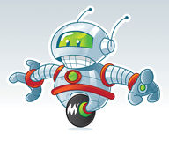колесо робота Стоковое фото RF