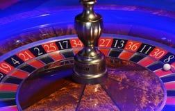 Колесо рулетки с светлой штриховатостью стоковое изображение