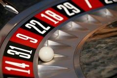 колесо рулетки 30 казино одного Стоковое Изображение