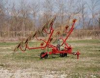 колесо сгребалки сена 10 Стоковая Фотография RF