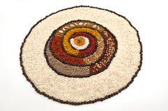 колесо специи риса перчинок Стоковая Фотография