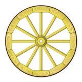 колесо спицы Стоковое Фото