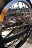 колесо спиц стоковое изображение