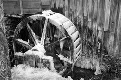 колесо стана старое Стоковое Изображение