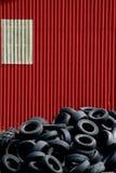 колесо стены автомобиля Стоковая Фотография