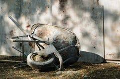 колесо тележки одиночное Стоковые Фотографии RF