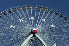 Колесо Техас Ferris стоковое изображение rf