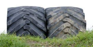 колесо трактора Стоковые Изображения RF