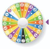 колесо удачи стоковое изображение