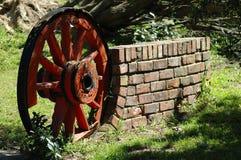 колесо фуры вола Стоковое Изображение RF