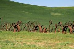 колесо фуры загородки стоковое изображение rf