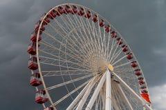 Колесо Чикаго Ferris стоковые фото