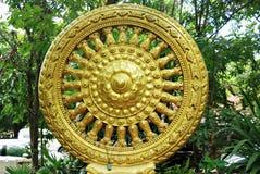 колесо шестерни Будды Стоковое фото RF