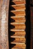 Колесо шестерни заржавело стоковое изображение rf