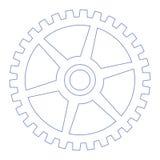 колесо шестерни Стоковая Фотография