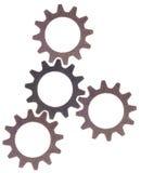 колесо шестерни cog предпосылки Стоковые Фотографии RF