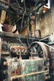 колесо шкива минирования Стоковое фото RF
