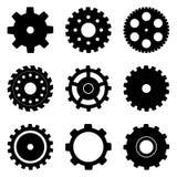 колесо cog установленное Стоковые Изображения RF