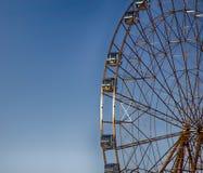 Колесо Ferris, большое колесо, конструкция металла Стоковые Фотографии RF