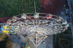 Колесо ferris города стоковое фото