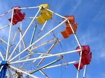 колесо ferris масленицы стоковая фотография rf