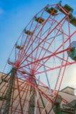 Колесо Ferris на парке западного края Стоковое Изображение