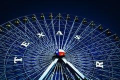 Колесо Ferris на ярмарке положения Техаса стоковая фотография