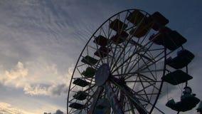 Колесо Ferris сток-видео