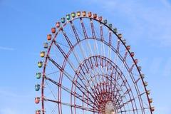 Колесо ferris Токио стоковые фотографии rf