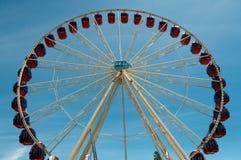 колесо ferris стоковая фотография