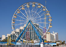 колесо ferris daytona пляжа стоковое фото rf