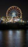 колесо monica santa 3 ferris Стоковые Фотографии RF